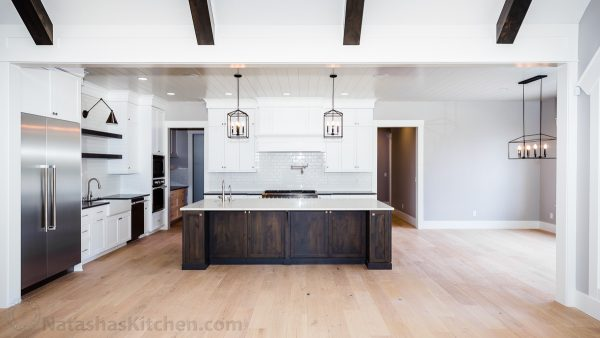 Our dream kitchen with island