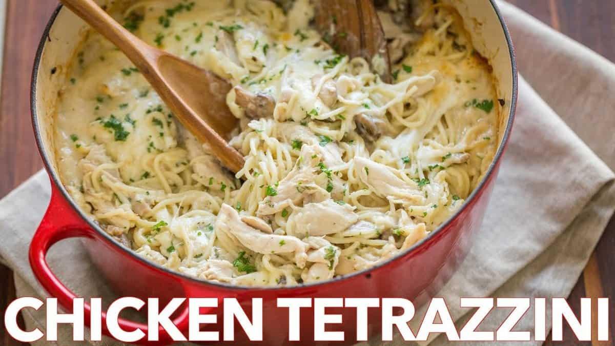Chicken Tetrazzini Recipe (VIDEO) - NatashasKitchen com