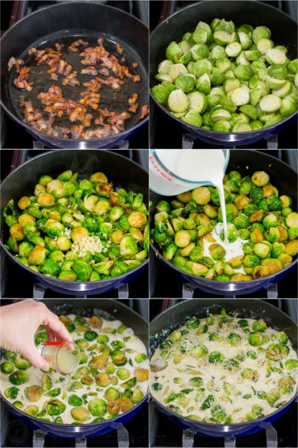 How to Cook brussels sprouts in pan