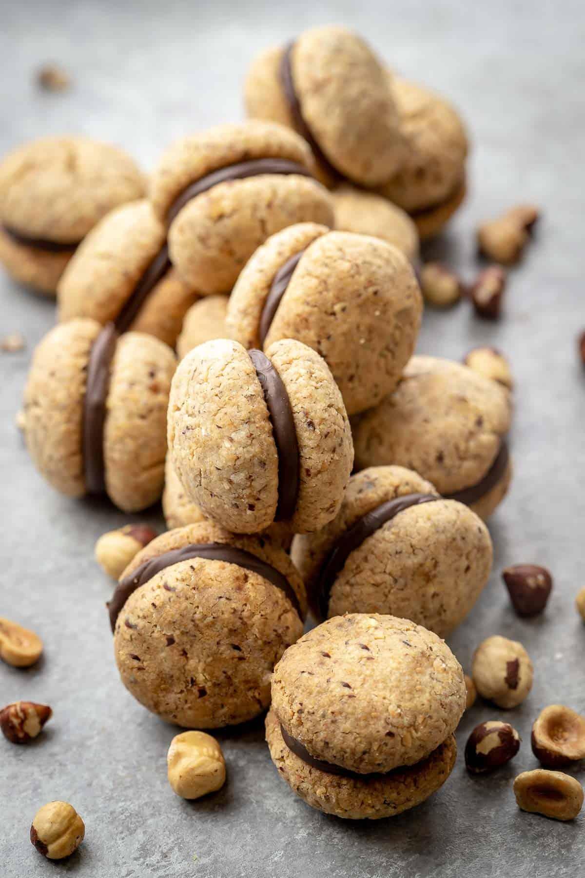 Italian Cookies Baci Di Dama Natashaskitchen Com