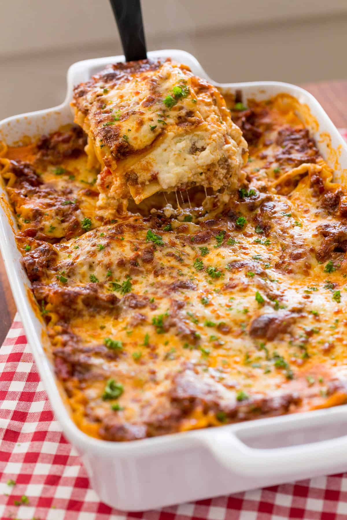 Lasagna Recipe Video Natashaskitchen Com