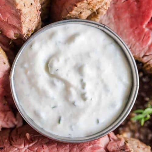 Homemade Horseradish Sauce
