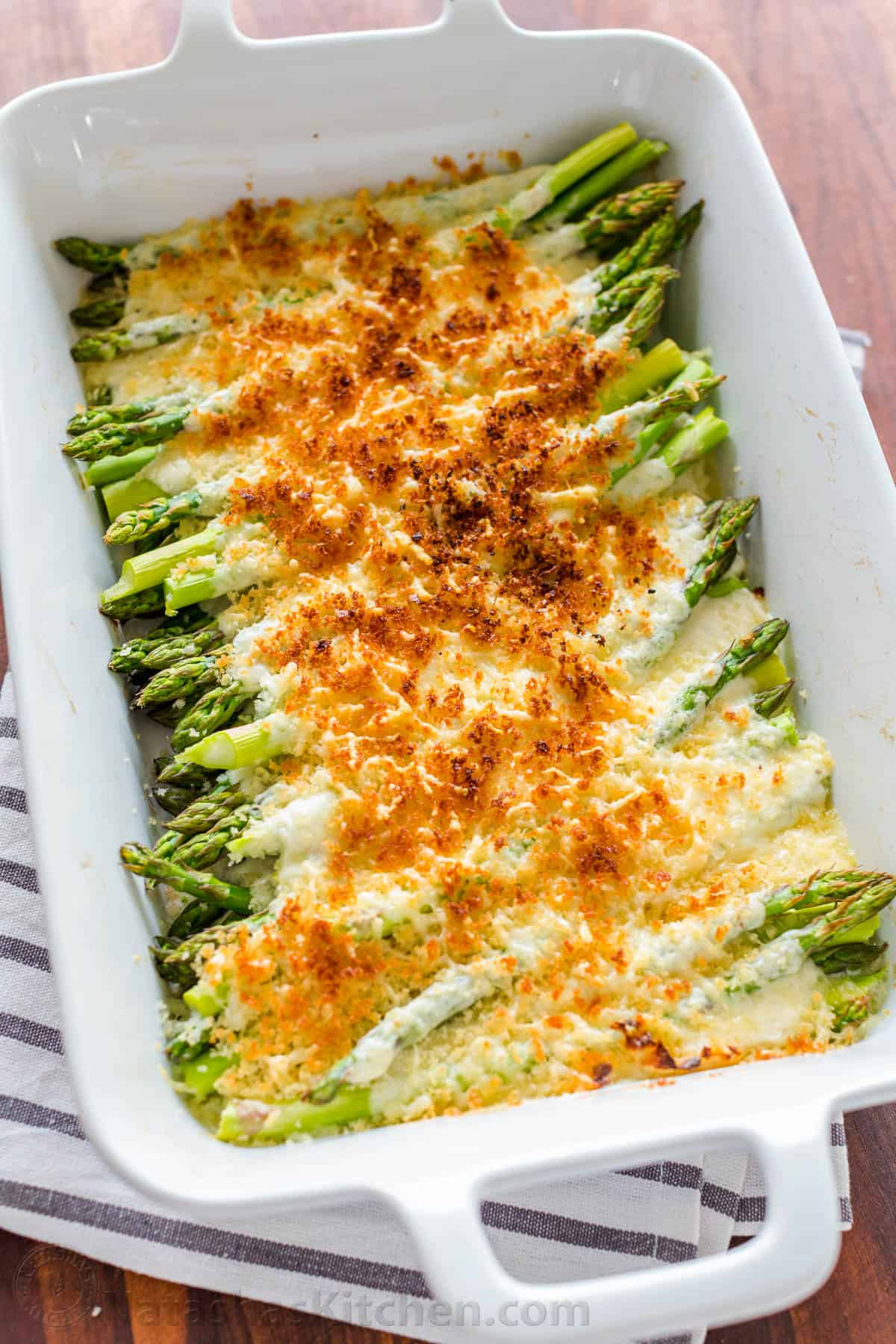 Asparagus Casserole Video Natashaskitchen Com