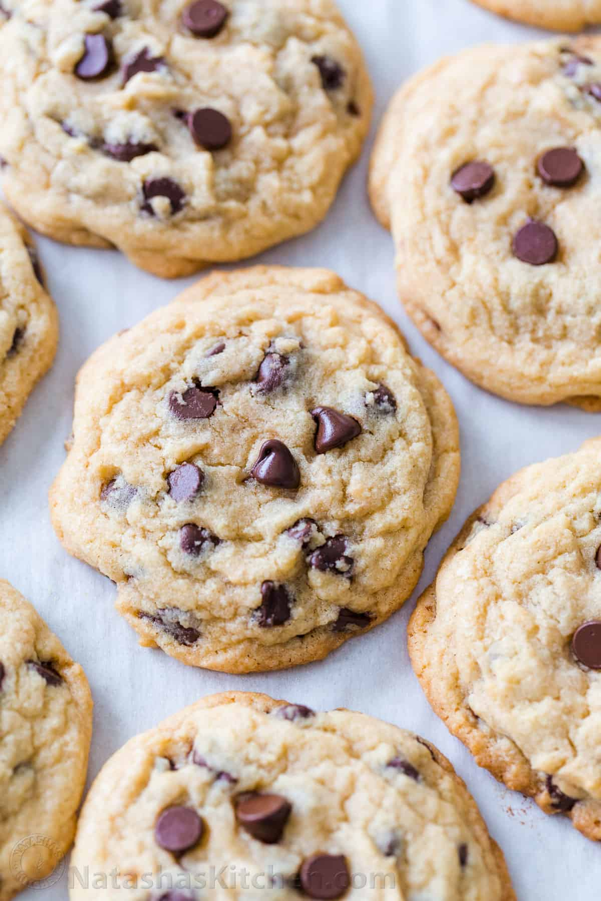Soft Chocolate Chip Cookies (VIDEO