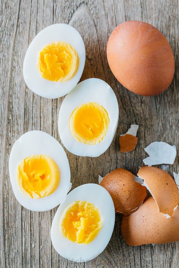 Easy peel hard boiled eggs from instant pot