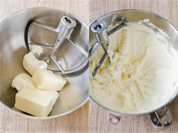 how to make chocolate frosting creaming butter and cream cheese