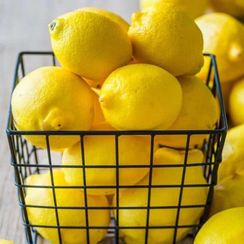 What to do with Lemons (Zesting, Juicing, Freezing) - NatashasKitchen.com