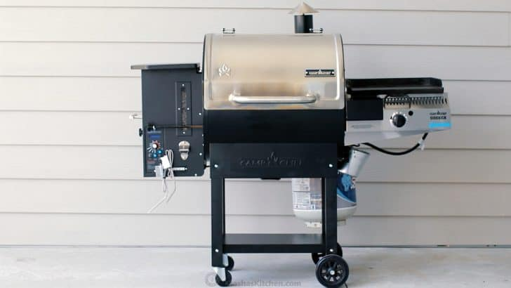 Camp Chef Woodwind smoker pellet grill