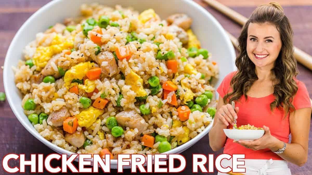 Chicken Fried Rice Video Natashaskitchen Com