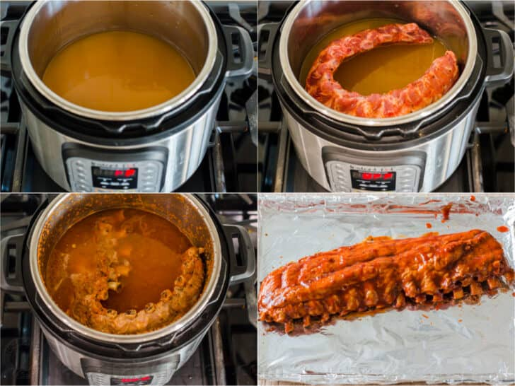How to Make Instant Pot Ribs step by step photos