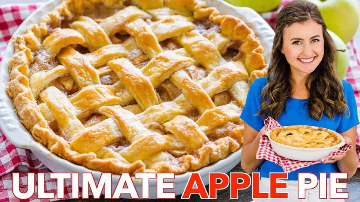 Apple Pie Recipe with the Best Filling VIDEO   NatashasKitchen.com