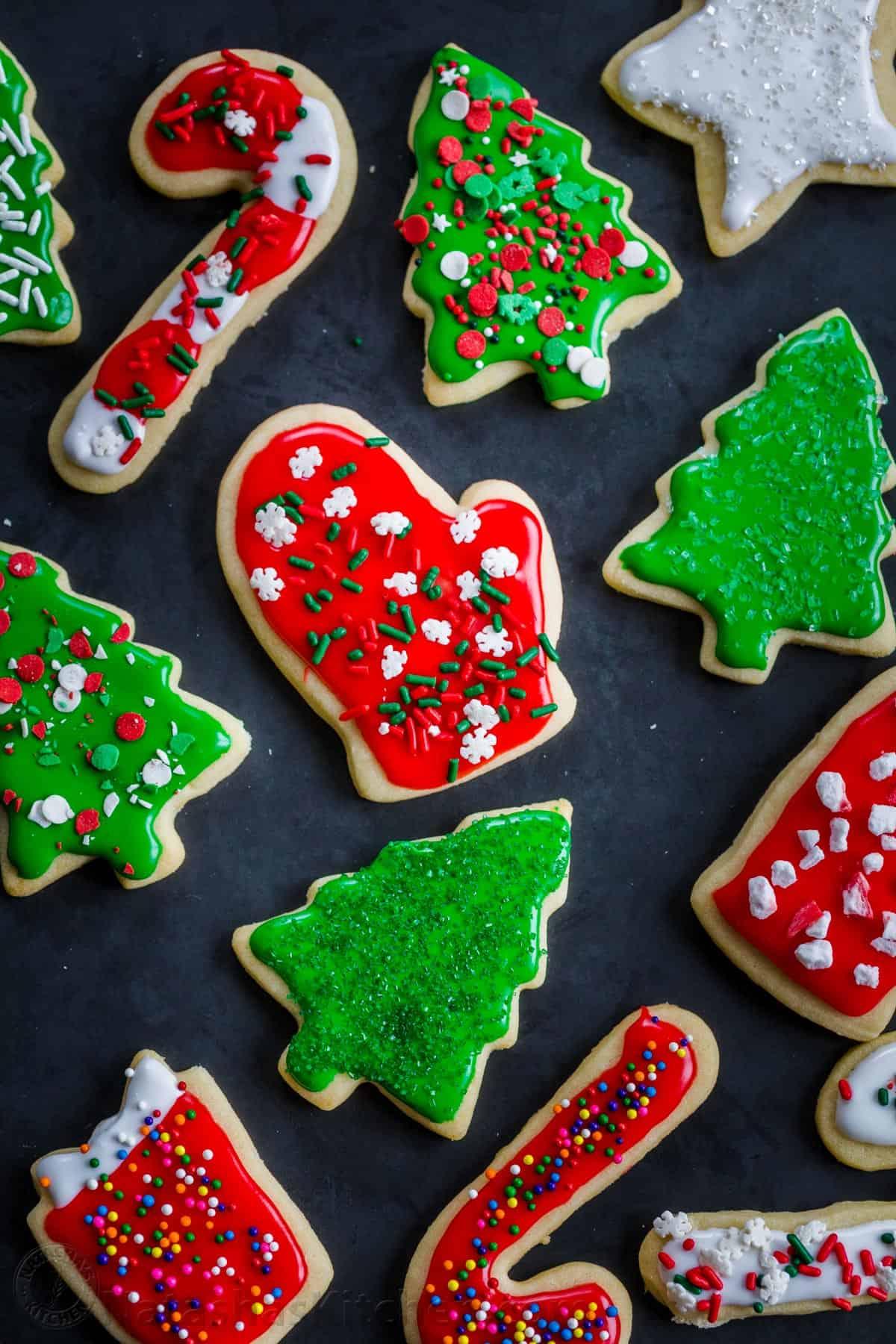 Easy Christmas Sugar Cookies Recipe