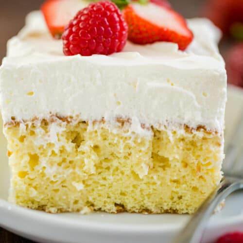 Tres Leches Cake Recipe Video Natashaskitchen Com