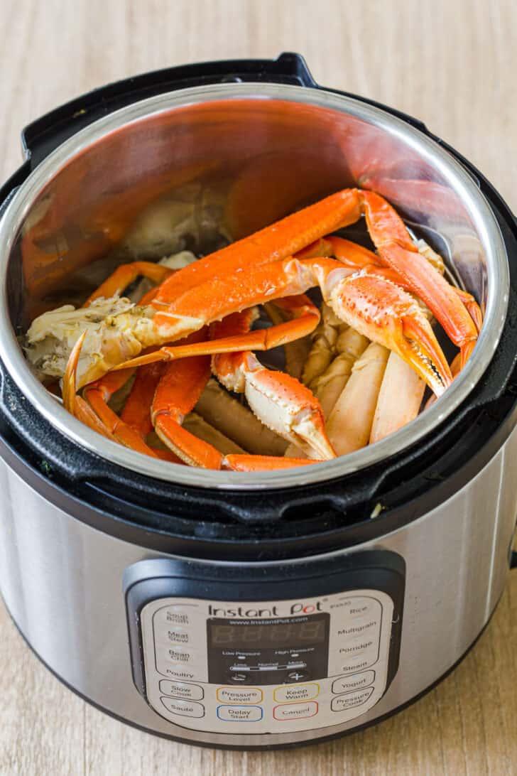 Crab Legs in Instant Pot