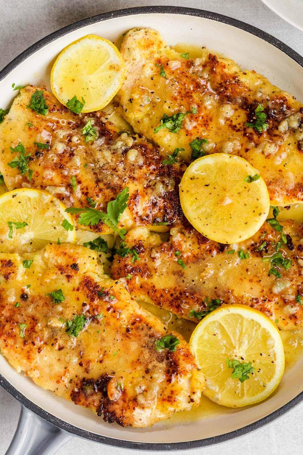 Lemon Chicken with BEST Lemon Butter Sauce