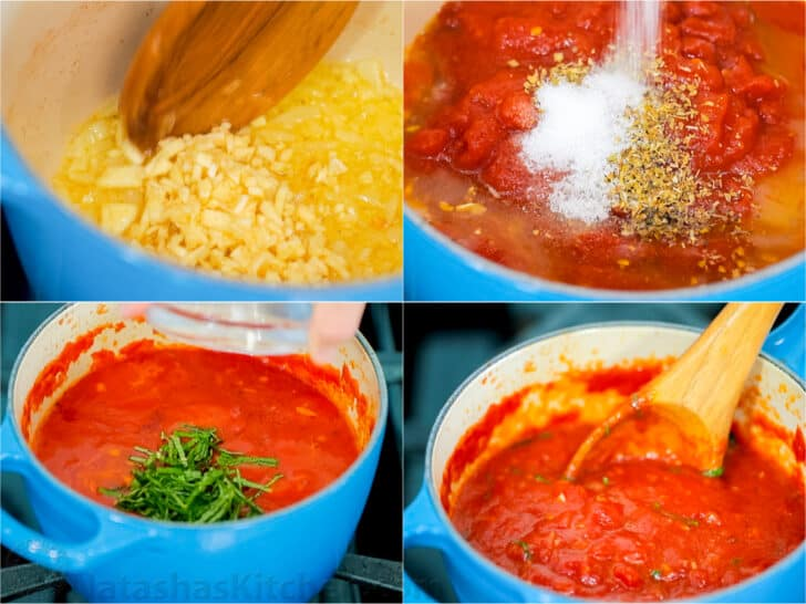 Easy Homemade Marinara Sauce (VIDEO