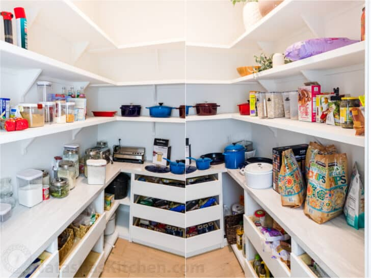 Messy Pantry that is not organized