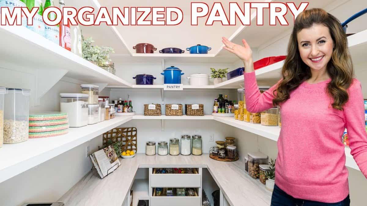 Organized Pantry Tour (VIDEO) - NatashasKitchen.com