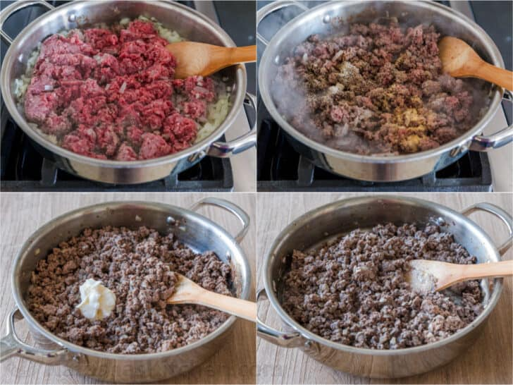 Cooking lean ground beef for sliders