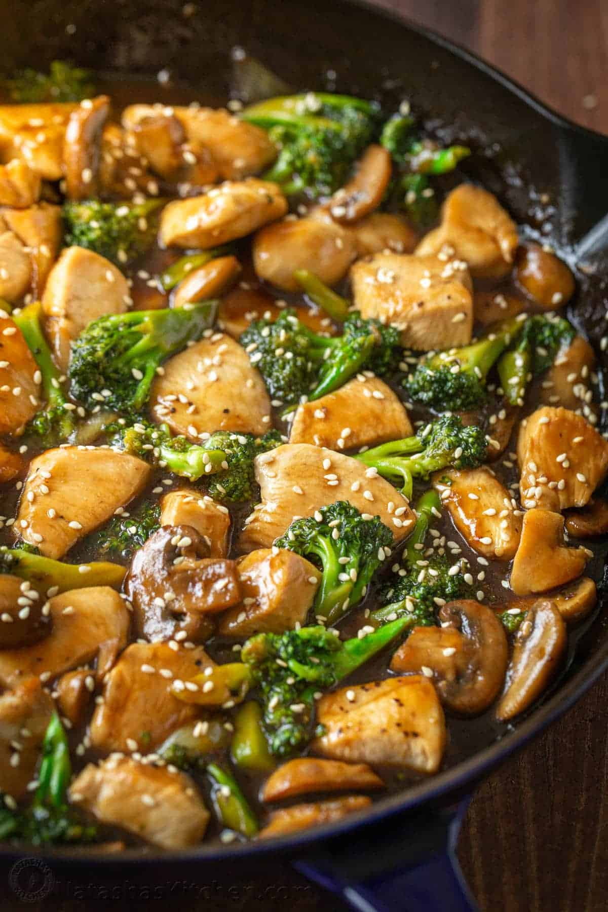 Chicken And Broccoli Stir Fry Video Natashaskitchen Com