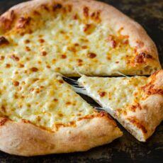 PIzza with slice removed