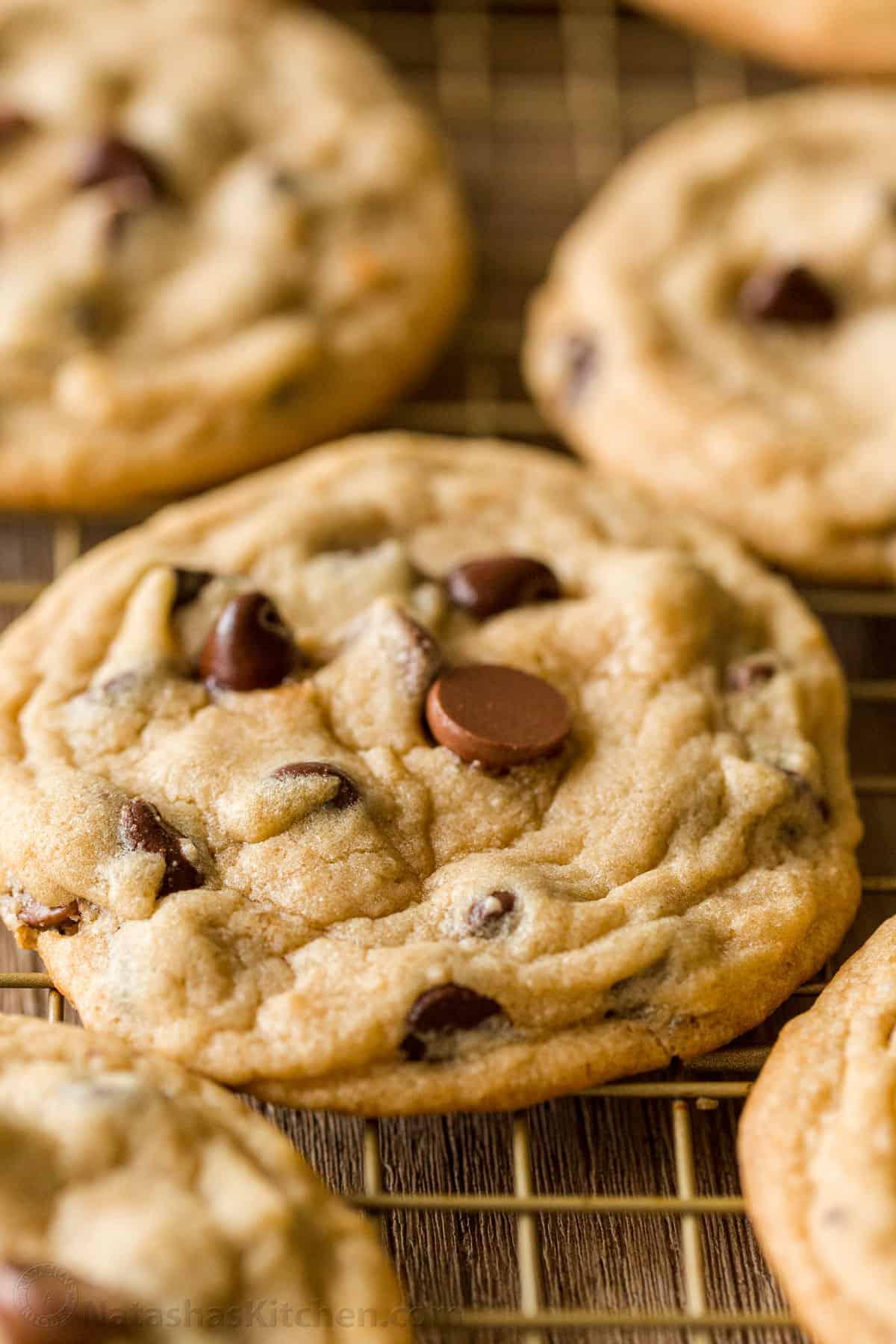 Soft Chocolate Chip Cookies (VIDEO) - NatashasKitchen.com