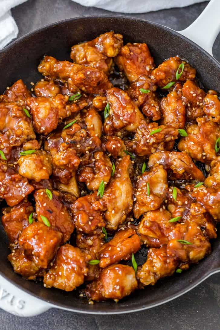 General Tso S Chicken Recipe Natashaskitchen Com