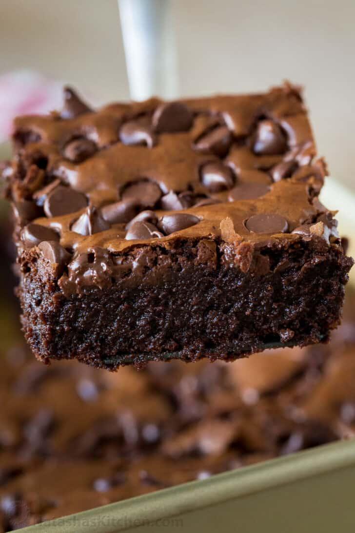 Fudgy Brownie Recipe Video Natashaskitchen Com