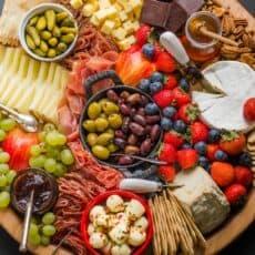 Charcuterie Board on serving platter