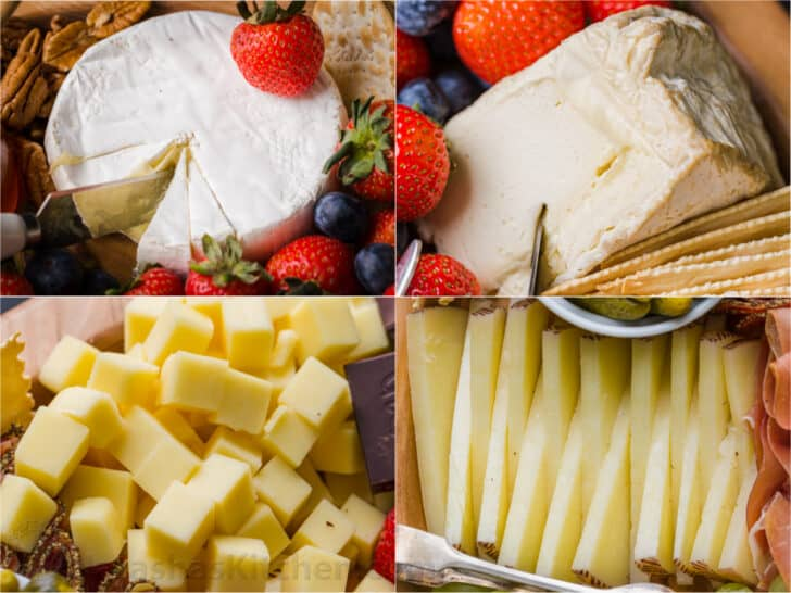 4 types of cheeses that are best for a cheese board