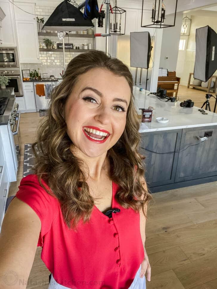 Natasha in Natashas Kitchen