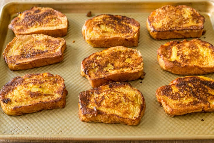 Make ahead French Toast ready for the freezer