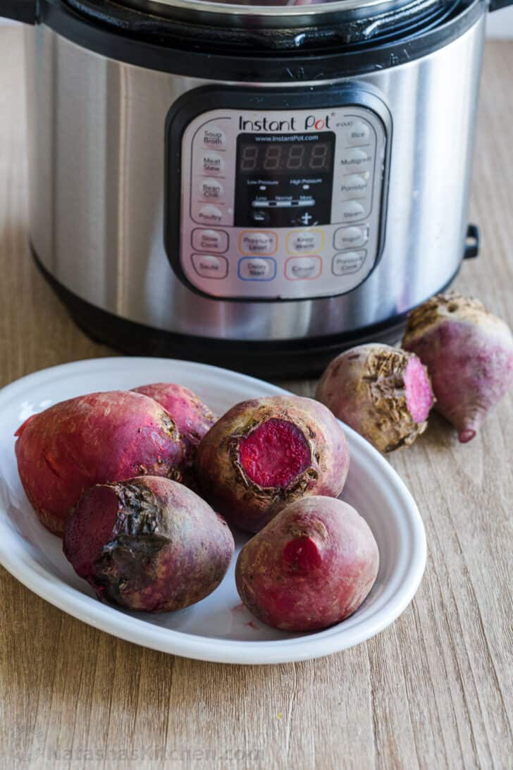 Beets with instant pot