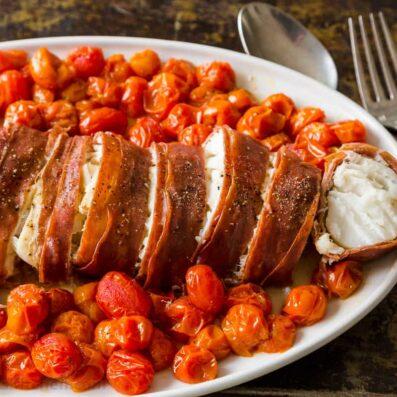 Prosciutto cod recipe
