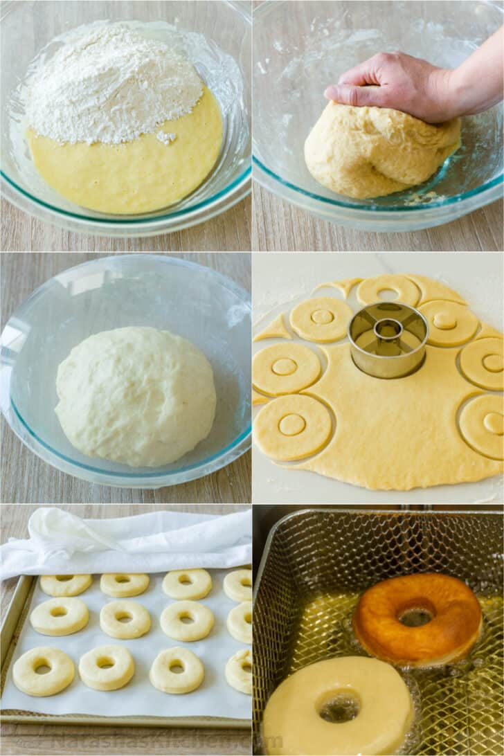 Step by step how to make donuts