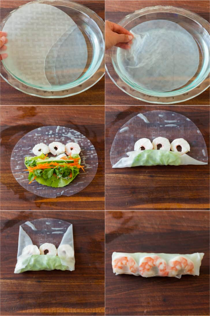 How to make spring rolls step by step instructions